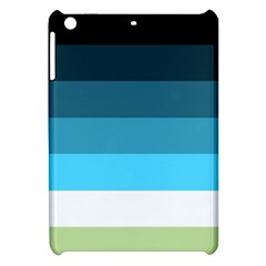 Line Color Black Green Blue White Apple iPad Mini Hardshell Case