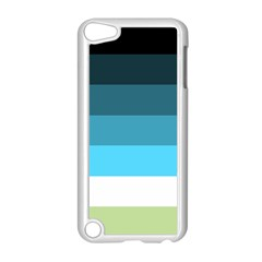 Line Color Black Green Blue White Apple Ipod Touch 5 Case (white)