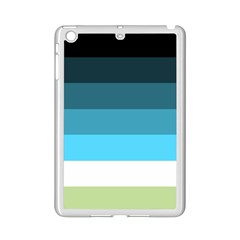 Line Color Black Green Blue White iPad Mini 2 Enamel Coated Cases