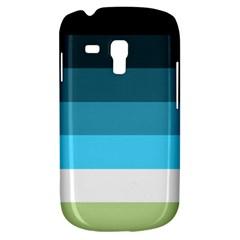 Line Color Black Green Blue White Galaxy S3 Mini