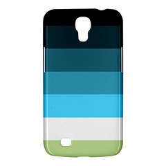 Line Color Black Green Blue White Samsung Galaxy Mega 6.3  I9200 Hardshell Case