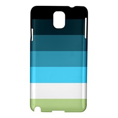 Line Color Black Green Blue White Samsung Galaxy Note 3 N9005 Hardshell Case
