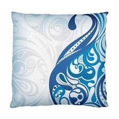 Delicate Tree Leaf Standard Cushion Case (Two Sides)