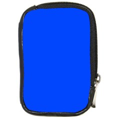 Plain Blue Compact Camera Cases