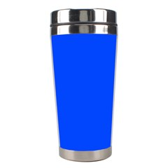 Plain Blue Stainless Steel Travel Tumblers