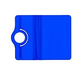 Plain Blue Kindle Fire HD (2013) Flip 360 Case