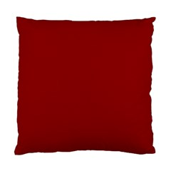 Plain Blue Red Standard Cushion Case (One Side)