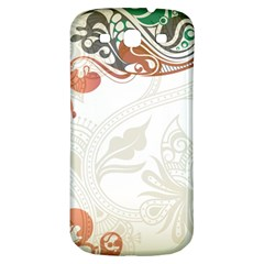 Flower Floral Tree Leaf Samsung Galaxy S3 S III Classic Hardshell Back Case