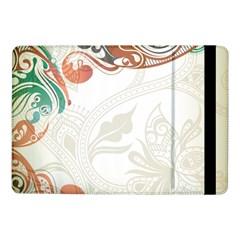 Flower Floral Tree Leaf Samsung Galaxy Tab Pro 10.1  Flip Case