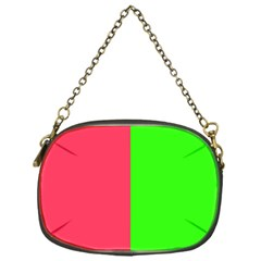 Neon Red Green Chain Purses (One Side)