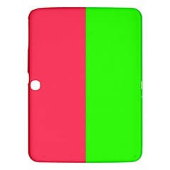 Neon Red Green Samsung Galaxy Tab 3 (10.1 ) P5200 Hardshell Case