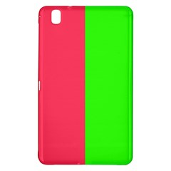Neon Red Green Samsung Galaxy Tab Pro 8.4 Hardshell Case