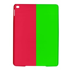 Neon Red Green iPad Air 2 Hardshell Cases