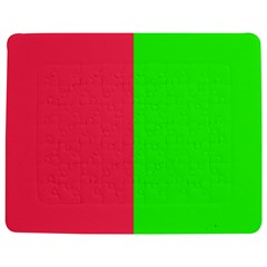 Neon Red Green Jigsaw Puzzle Photo Stand (rectangular)