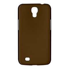 Plain Brown Samsung Galaxy Mega 6.3  I9200 Hardshell Case