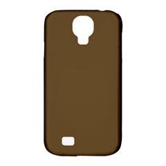 Plain Brown Samsung Galaxy S4 Classic Hardshell Case (PC+Silicone)