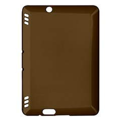 Plain Brown Kindle Fire HDX Hardshell Case
