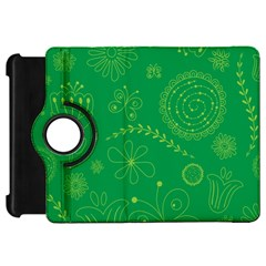 Green Floral Star Butterfly Flower Kindle Fire HD 7