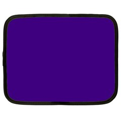 Plain Violet Purple Netbook Case (XL)