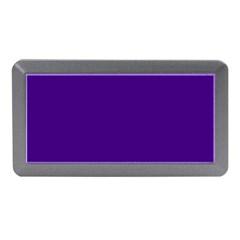 Plain Violet Purple Memory Card Reader (Mini)