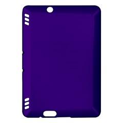 Plain Violet Purple Kindle Fire HDX Hardshell Case