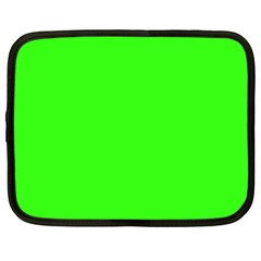 Plain Green Netbook Case (XXL)