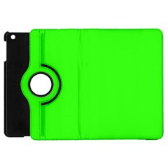 Plain Green Apple iPad Mini Flip 360 Case