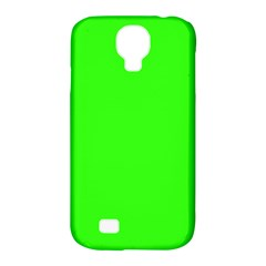 Plain Green Samsung Galaxy S4 Classic Hardshell Case (PC+Silicone)