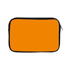 Plain Orange Apple iPad Mini Zipper Cases