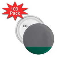 Trolley Grey Green Tropical 1.75  Buttons (100 pack)