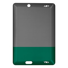 Trolley Grey Green Tropical Amazon Kindle Fire HD (2013) Hardshell Case