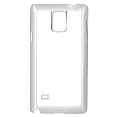Plain White Samsung Galaxy Note 4 Case (White)