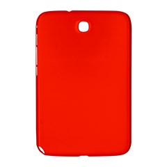 Plain Orange Red Samsung Galaxy Note 8.0 N5100 Hardshell Case