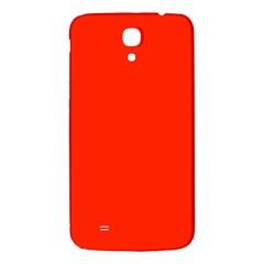 Plain Orange Red Samsung Galaxy Mega I9200 Hardshell Back Case