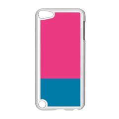 Trolley Pink Blue Tropical Apple iPod Touch 5 Case (White)