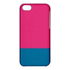 Trolley Pink Blue Tropical Apple iPhone 5C Hardshell Case