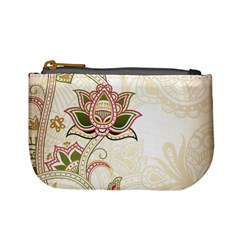 Floral Flower Star Leaf Gold Mini Coin Purses