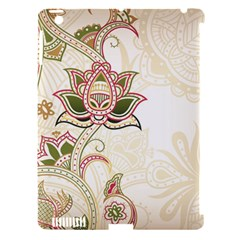 Floral Flower Star Leaf Gold Apple iPad 3/4 Hardshell Case (Compatible with Smart Cover)