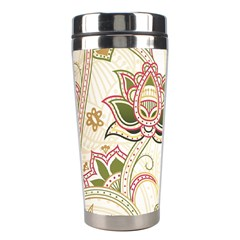 Floral Flower Star Leaf Gold Stainless Steel Travel Tumblers