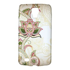 Floral Flower Star Leaf Gold Galaxy S4 Active