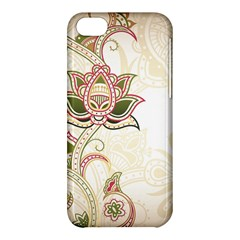 Floral Flower Star Leaf Gold Apple iPhone 5C Hardshell Case