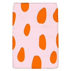 Polka Dot Orange Pink Flap Covers (L)