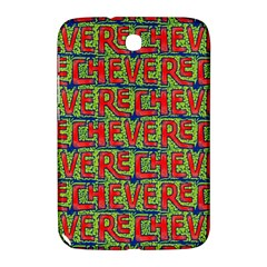 Typographic Graffiti Pattern Samsung Galaxy Note 8.0 N5100 Hardshell Case