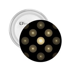 Gray Balls On Black Background 2 25  Buttons