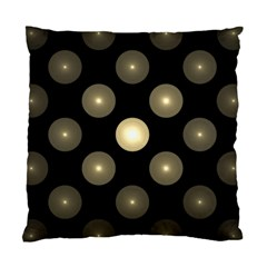 Gray Balls On Black Background Standard Cushion Case (Two Sides)