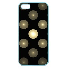 Gray Balls On Black Background Apple Seamless Iphone 5 Case (color)