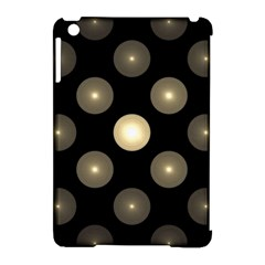 Gray Balls On Black Background Apple iPad Mini Hardshell Case (Compatible with Smart Cover)