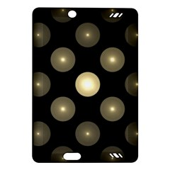 Gray Balls On Black Background Amazon Kindle Fire Hd (2013) Hardshell Case