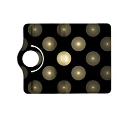Gray Balls On Black Background Kindle Fire Hd (2013) Flip 360 Case