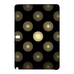 Gray Balls On Black Background Samsung Galaxy Tab Pro 10 1 Hardshell Case